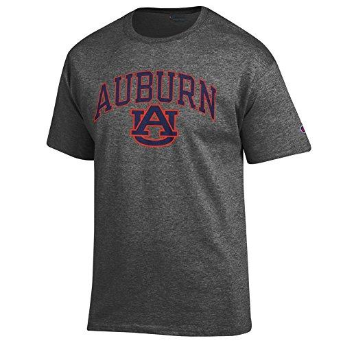 Elite Fan Shop Auburn Tigers Tshirt Varsity Charcoal - ()