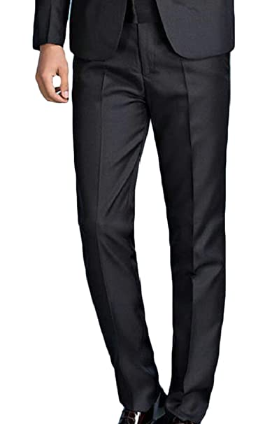 security - Pantalón de Traje - para Hombre Negro Negro (XL ...