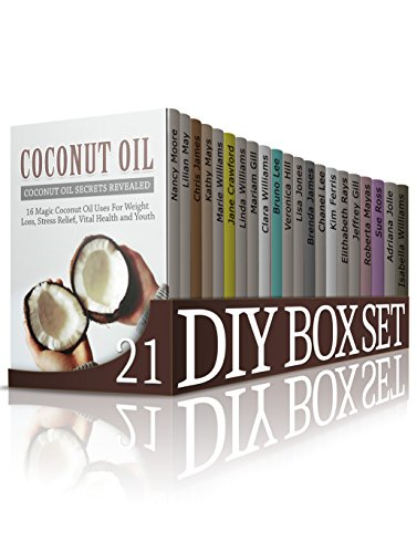 DIY Box Set 21 Books: Ultimate Guides to Essential Oils, Coconut Oil, Beekeeping, Candle Making, DIY Gifts, Origam, Quilting for Beginners, Sewing for Beginners, Pencil Drawing and much more! by [Mays, Kathy, Hill, Veronica, Lee, Bruno, Jolie, Adriana, Williams, Linda, Williams, Clara, Lee, Chanel, Rays, Elithabeth, Mayas, Roberta, Moore, Nancy]