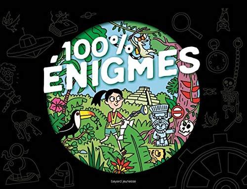 100 % énigmes : Plus De 70 énigmes Et Jeux + 1 Escape Game Géant, En Bonus Une Loupe Magique Et Un Feutre Effaçable