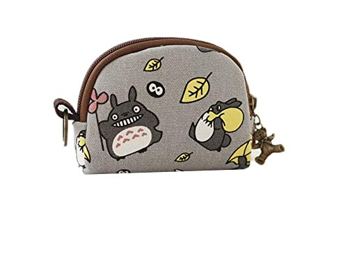 b1dbe0bae21a Abaddon Totoro Wallet canvas Small Pouch Cute Coin Purse for Girl Wallet  Children Mini Storage Bag