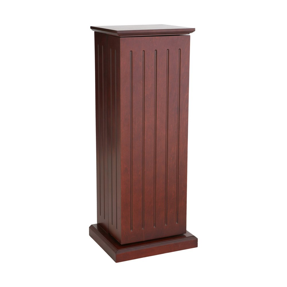 Southern Enterprises Media Storage Pedestal - Cherry by Southern Enterprises