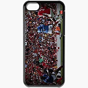 Personalized iPhone 5C Cell phone Case/Cover Skin Arsenal 4 1 Portsmouth Arsenal Football Black