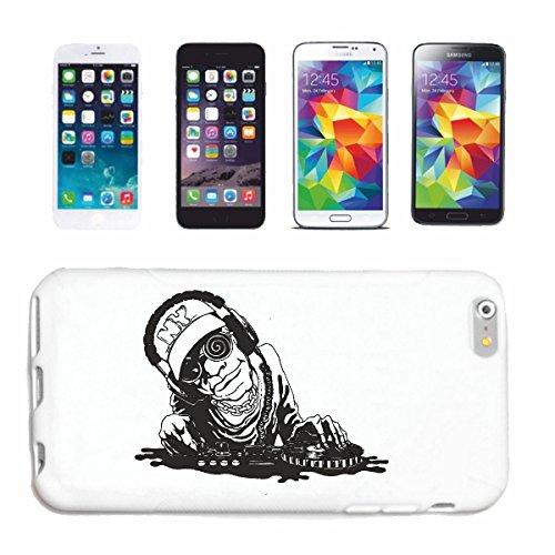 caja del teléfono iPhone 6S DJ Rockmusik HAY TAMBORES la guitarra del cráneo de DJ SOL TECHNO FUNKY JAZZ FESTIVAL DEL ALMA TRANCE CASA DE HIP HOP HIPHOP LÍMITE Caso duro de la cubierta Teléfono Cubi