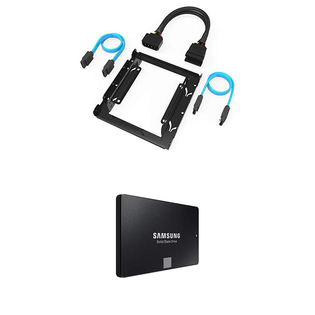 SSD 500GB SATA Sabrent 3.5in to x2 / 2.5in Mounting Kit [ an