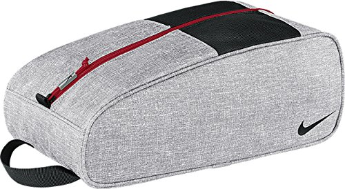 Nike Golf- Sport Shoe Tote III Silver/Black/Red GA0267-006