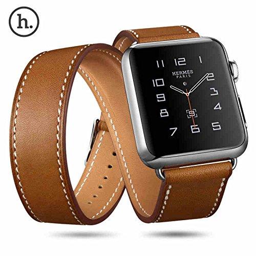Apple Watch 38mm ドゥブルトゥール [エタンレザーバンド]