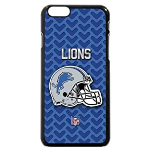 "UniqueBox Customized NFL Series Case for iPhone 6 4.7"", NFL Team Detroit Lions Logo iPhone 6 4.7"