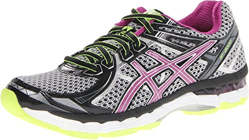 ASICS Womens GT 2000 2 Running ShoeBlackOrchidFlash Yellow7.5 B(M) US