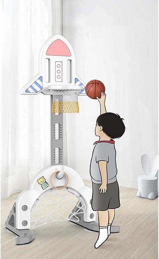 Juego De Aro De Baloncesto para Niños, Soporte Ajustable De 174 Cm ...