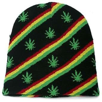 Amazon.com: Rasta Weed Marijuana Pot Leaf Stripe Reggae