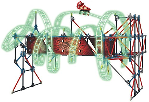 K'NEX Thrill Rides - Web Weaver Roller Coaster Building Set - 439 Pieces - Ages 9 and Up - Construction Educational Toy