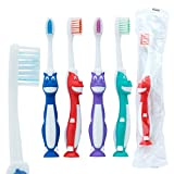 OraLine Toddler Pony Toothbrushes - Children's Dental Care Supplies - 72 per Pack