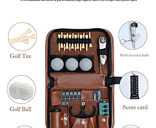Herrick Golf multifunction bag Golf Accessories Tool bag Outdoor Golfer's Gift Set by Herrick (Image #7)