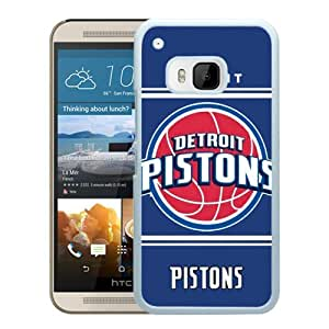 Excellent protection,Lightweight and durable Detroit Pistons 10 White HTC ONE M9 Case