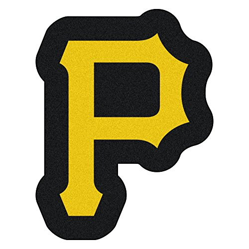 MLB Pittsburgh Pirates Mascot Novelty Logo Shaped Area Rug (Pittsburgh Pirates Carpet)