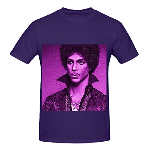Prince I Wanna Be Your Lover Tour Rocknroll Men Crew Neck Custom Tee Shirts