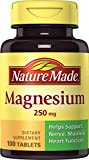 Nature Made Magnesium (Oxide) 250 mg Tablets 100 Ct Review