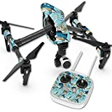 Skin For DJI Inspire 1 Quadcopter Drone – Island Fish | MightySkins Protective, Durable, and Unique Vinyl Decal wrap cover | Easy To Apply, Remove, and Change Styles | Made in the USA