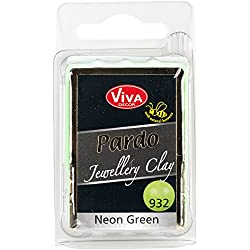 Viva Decor Pardo Jewelry Clay, 56g, Neon Green
