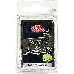Viva Decor Pardo Jewelry Clay, 56g, Neon Green