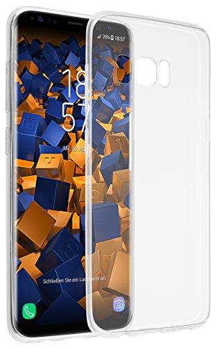 mumbi UltraSlim Hülle für Samsung Galaxy S8 Schutzhülle transparent (Ultra Slim - 0.70 mm)