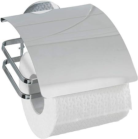 Wc Papier Rouleaux Porte-rouleau Support toillettenpapier inox couvercle Couvercle