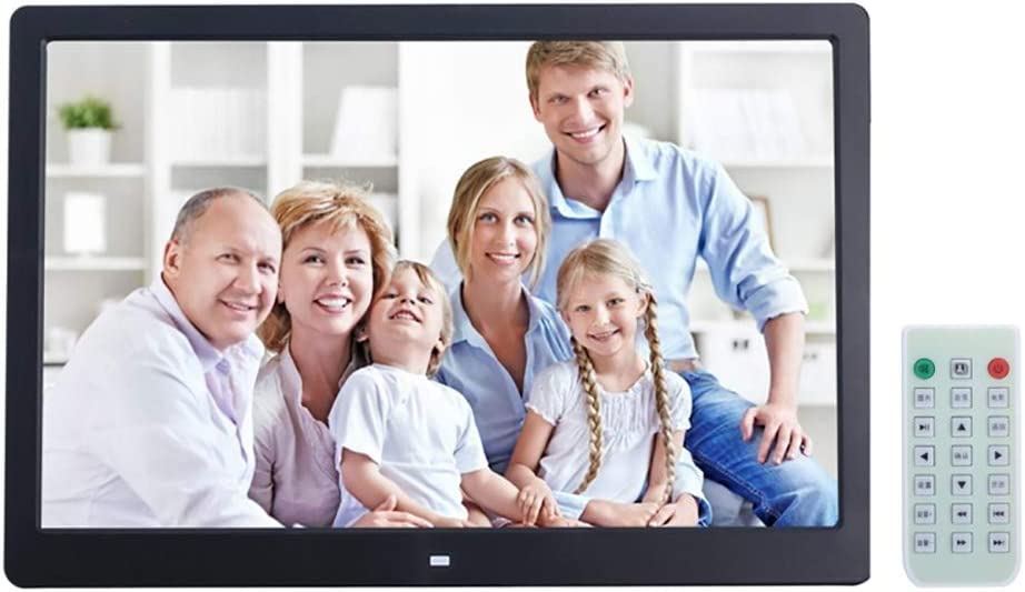 YTBLF 13-inch Digital Photo Frame LED Display Support for SD//MS//MMC Card and USB Allwinner F16 with Stand and Remote Control