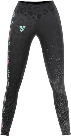 Fitness Crossfit SMMASH Spiritual Legging Sport Femme Long Taille Haute et Push Up Yoga Legging Mat/ériau Antibact/érien Id/éal pour Les Gymnases Produit dans lUnion Europ/éenne