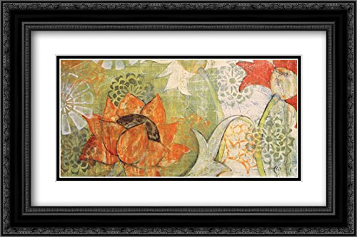 Thai Spice II 2x Matted 24x16 Black Ornate Framed Art Print by Birch, Kate by ArtDirect