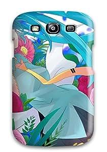 Hot Fashion ZqkKyTf5839WYByl Design Case Cover For Galaxy S3 Protective Case (headphones Vocaloid Flowers Hatsune Miku Tie Mizuki Twintails)