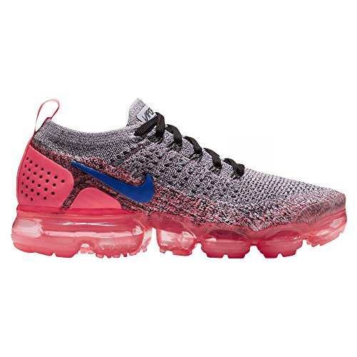 f2716221b2670 Cheap NIKE Women s Air Vapormax Flyknit 2 White Ultramarine Hot Punch Black  Nylon Running Shoes 6 D(M) US