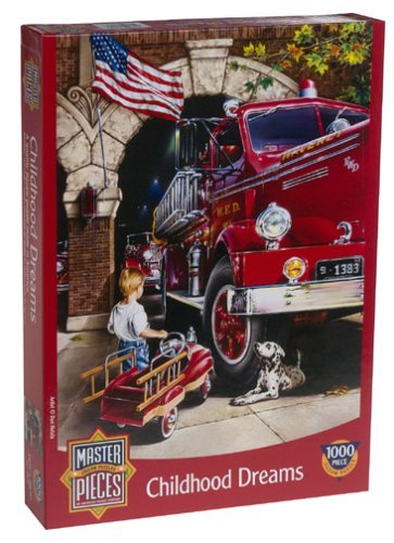 Childhood Dreams Jigsaw Puzzle 1000pc by American Puzzles