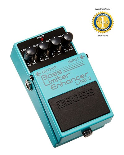 Boss LMB-3 Bass Limiter/Enhancer Pedal with 1 Year Free Extended Warranty by BOSS