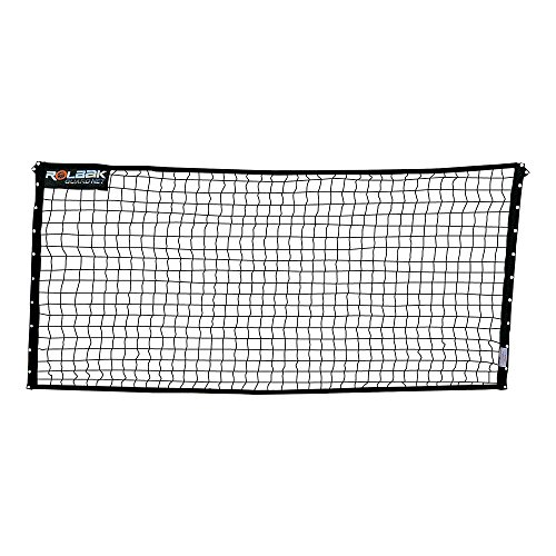 Rolbak 10 Feet Guard Net Set with Pegs, Ground Anchors, Steel Posts and Carry-All Bag
