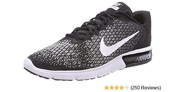 new concept 828b4 90279 Amazon.com   Nike Air Max Sequent 2 Mens Running Shoes   Road Running