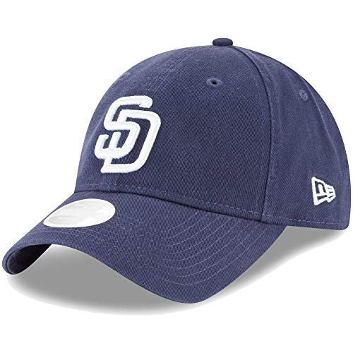 (New Era Womens Core Classic Twill Team Color 9TWENTY Adjustable Hat (San Diego Padres))