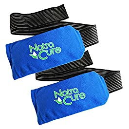 NatraCure Universal Cold Pack Ice Wrap – 2 Pack – (5″ x 10″ Pouch with 24″ Nylon Belt Strap)