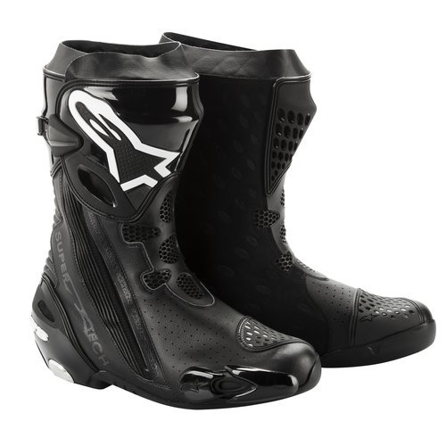 Alpinestars Supertech R Vented Boots 2012 Black US 6 EU 39