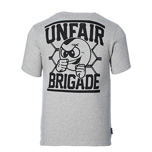 UNFAIR ATHLETICS Herren Oberteile / T-Shirt Unfair Brigade grau XL