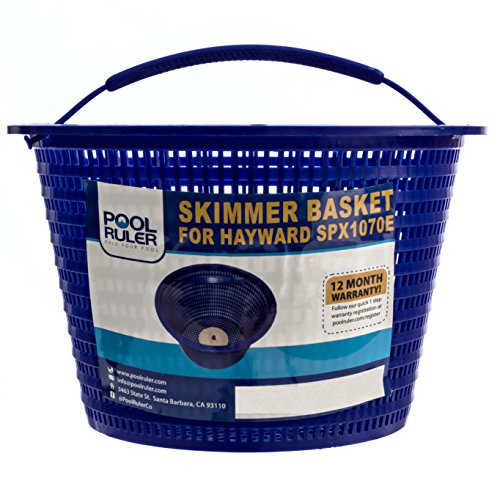 Pool Ruler Skimmer Basket for Hayward SPX1070E & StaRite (Hayward Skimmer Basket)
