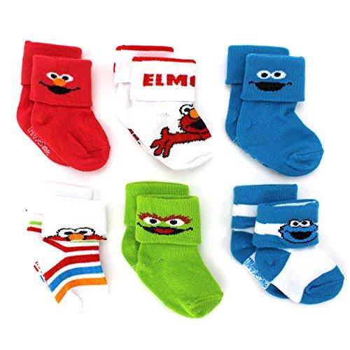 Sesame Street Boys pack Socks