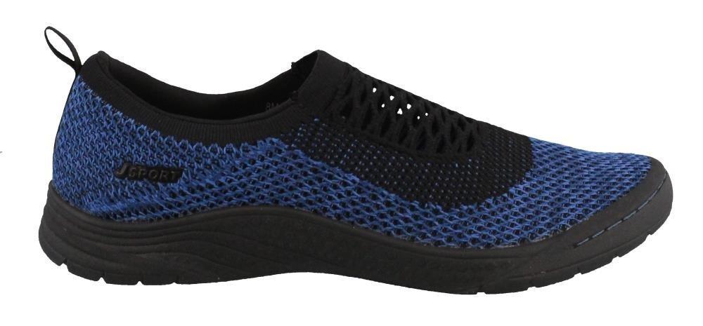 JSport by Jambu Women's Joy Sneaker B079M8V71Y 7.5 B(M) US|Grey Blue