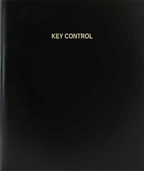 amazon com bookfactory key control log book journal logbook