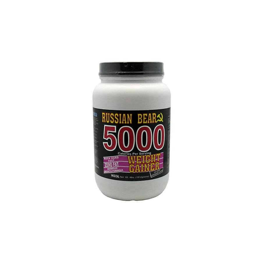Vitol Russian Bear 5000 Weight Gainer Chocolate 4 lbs