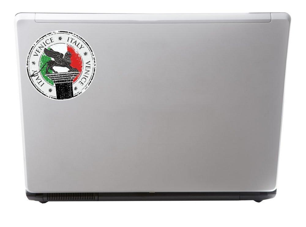 2/x Venedig Italien Vinyl Aufkleber Aufkleber Laptop Reise Gep/äck Auto Cool Schild Fun # 6642-15cm//150mm Wide