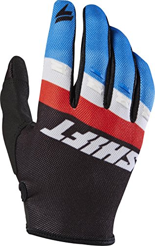 2017 Shift White Label Air Gloves - Black,L (Glove Shift)