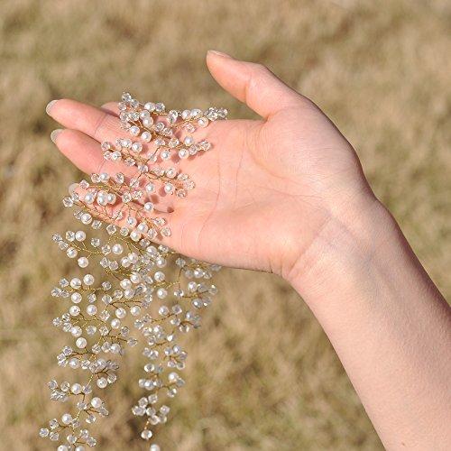 g Sposa Fusciacca Abito Cristalli Ghigliottina Cinghia Da Sh55 Sposa Cintura Diamanti Viola Ulapan Perle Da OaPxZ