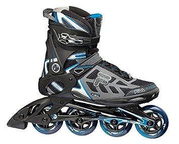 5e39ea07323 Fila Inlineskate Men's Primo Air Wave Rollerblades-Black/Blue, Size 10,  Multi