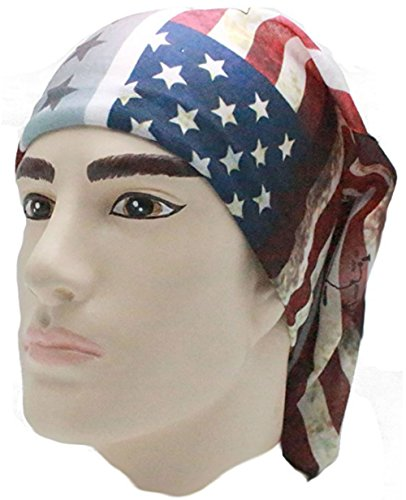 American Flag Bandana Headband US Bandana For Men USA Flag Bandana USA Bandana Women Confederate Flag Accessories